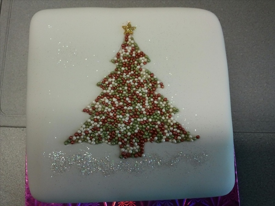 My Design For Christmas 2012 on Cake Central