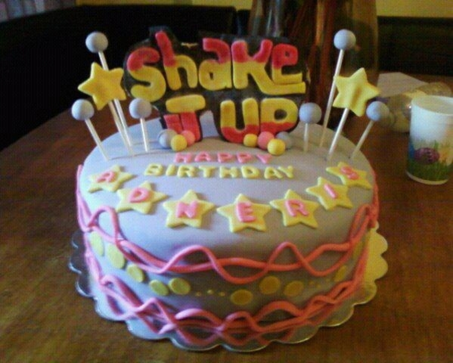 Shake It Up Cake on Cake Central
