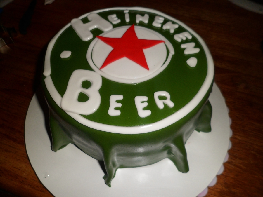 Beer Cap!!! on Cake Central