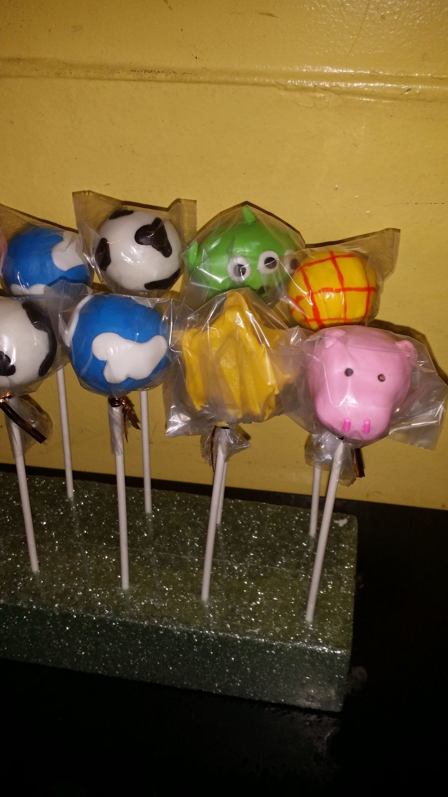 Toy Story Cake Pops on Cake Central