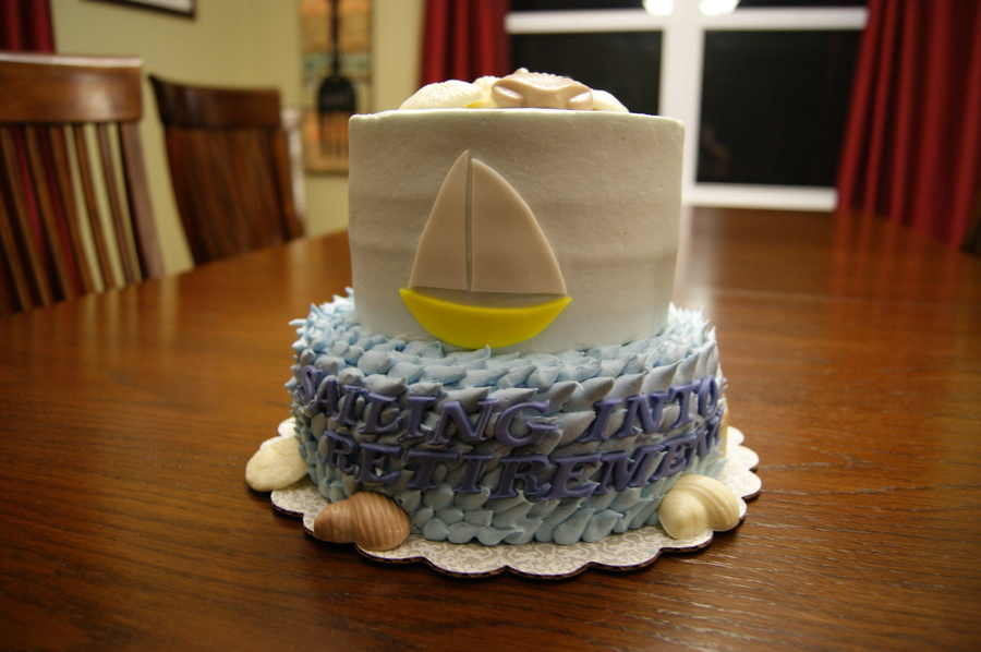 Sailing Into Retirement on Cake Central