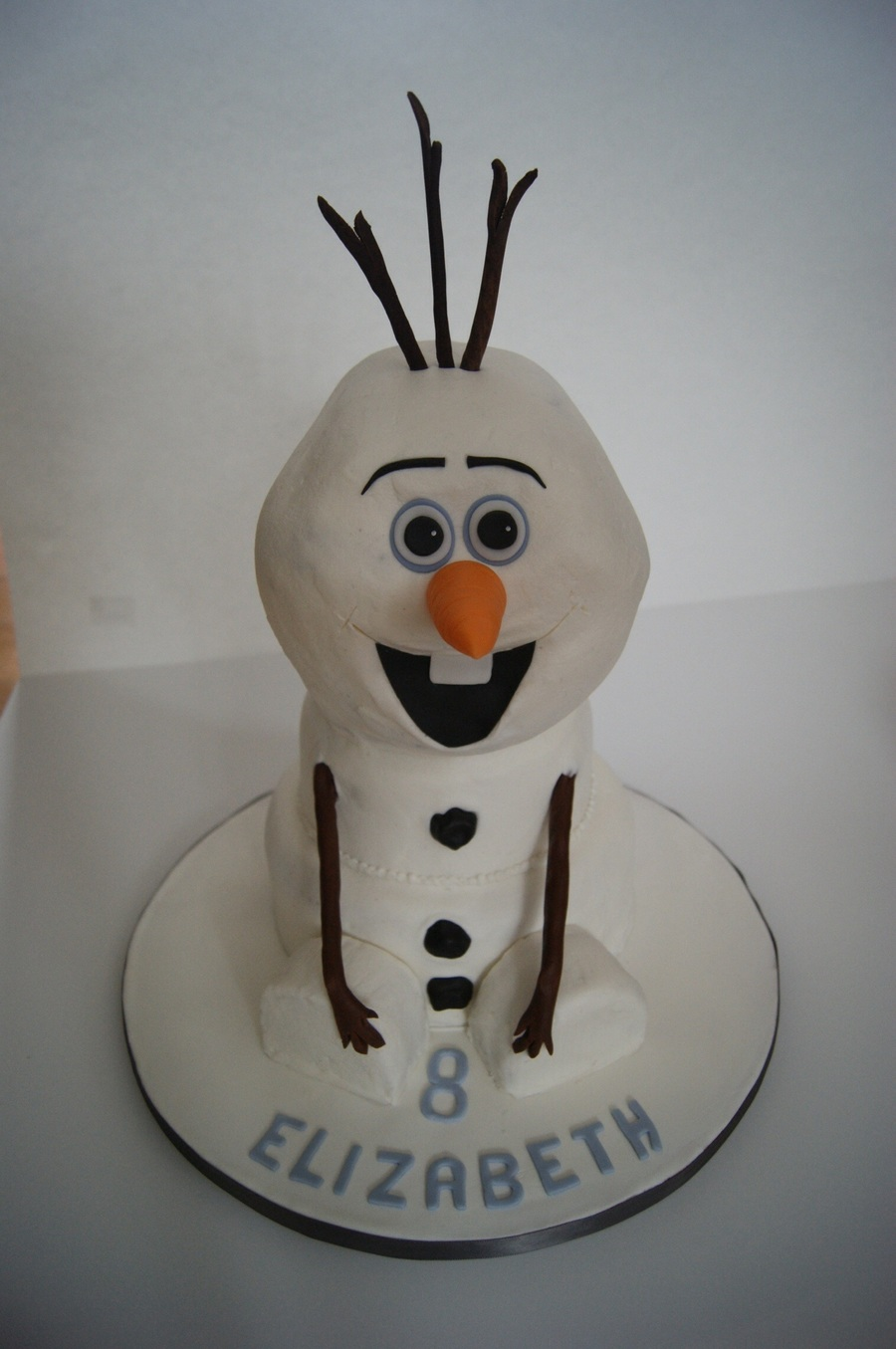 Olaf From Frozen on Cake Central