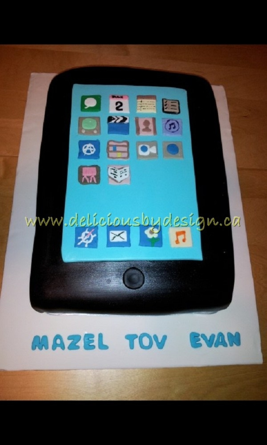 Bar Mitzvah Ipad on Cake Central
