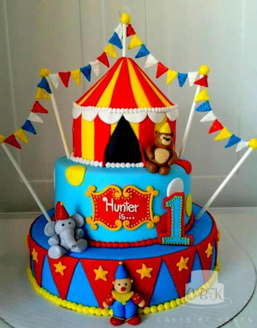 Circus Theme Cake Decorations
