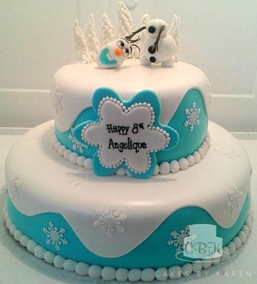 Cake Decorating Team Names : Disney Frozen, Headless Olaf - CakeCentral.com