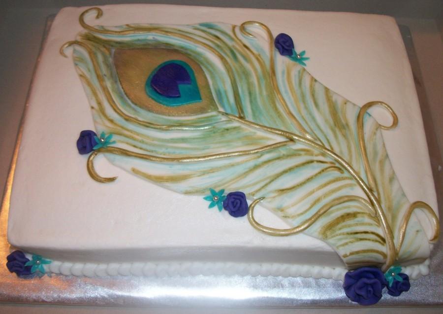 Chocolate Fudge Ribbon Cake