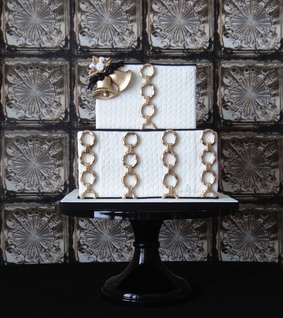 Simple & Glamorous on Cake Central