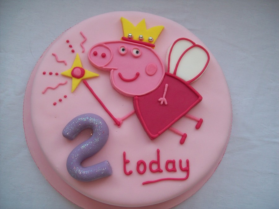 Birthday Banner Peppa Pig Decoration Flag For With One