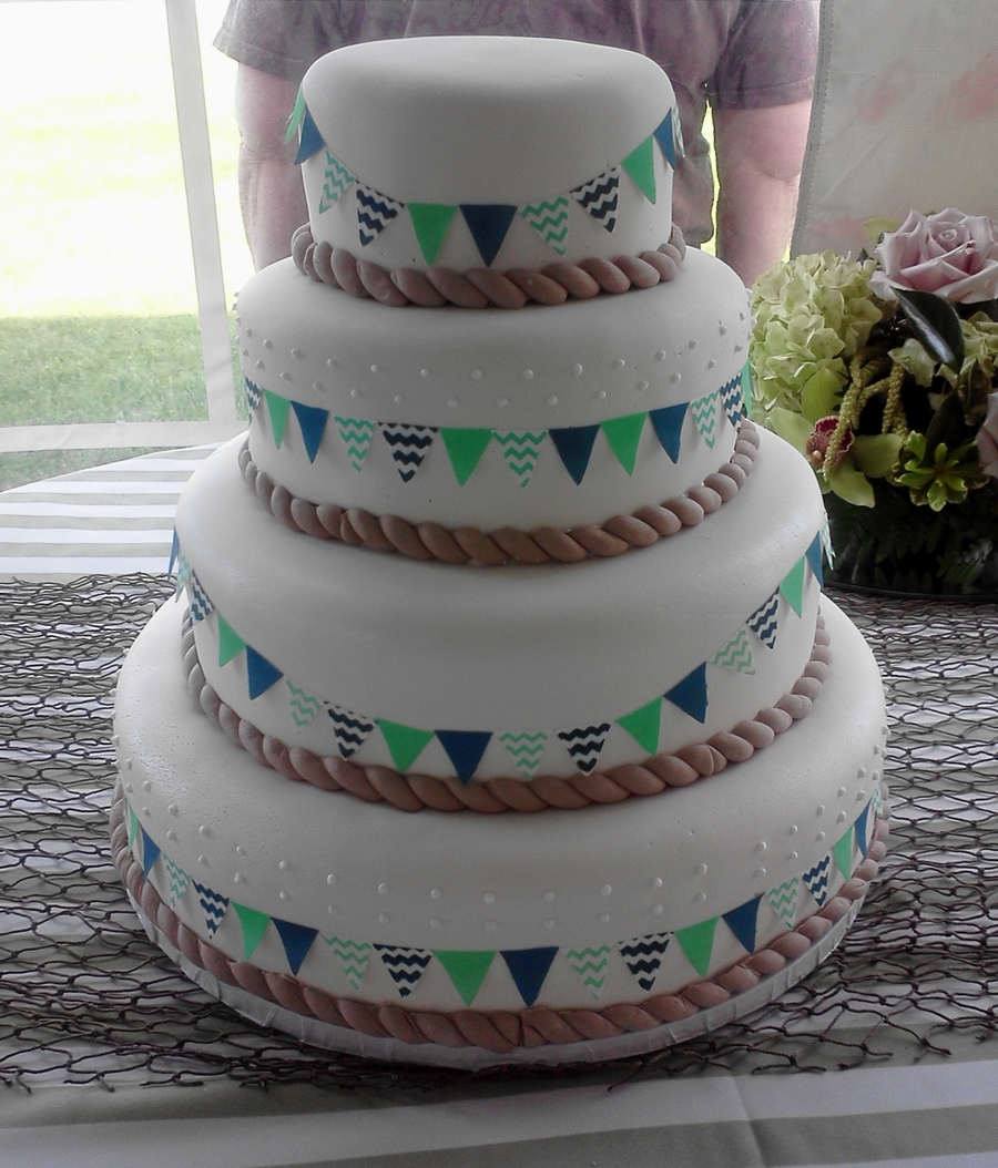 Nautical Wedding on Cake Central