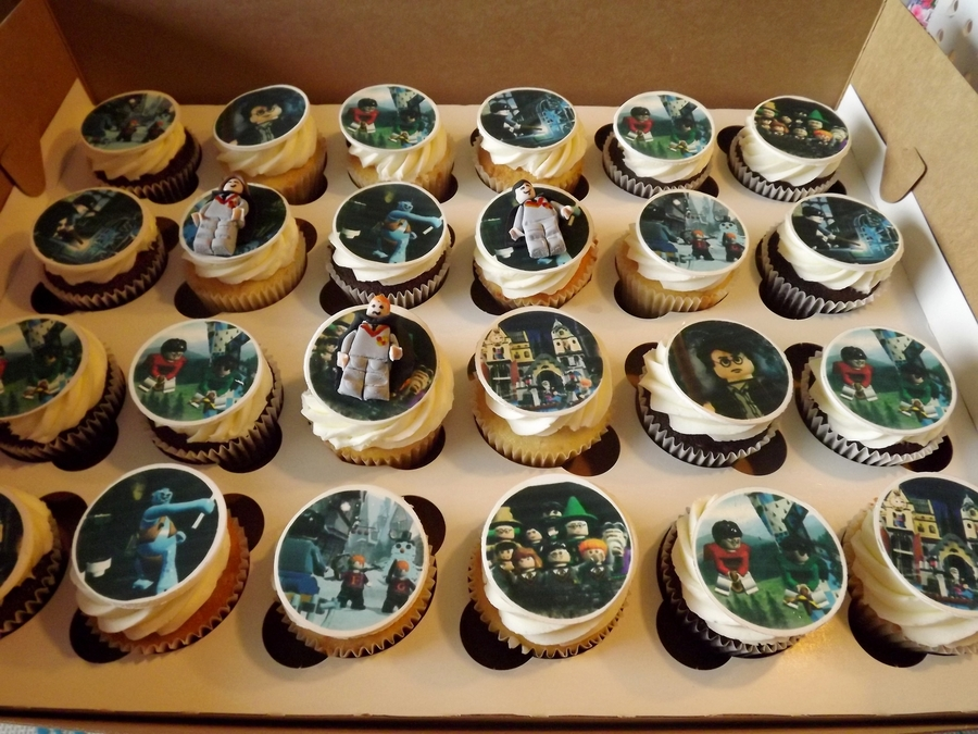 Herry Potter Cupcakes  on Cake Central