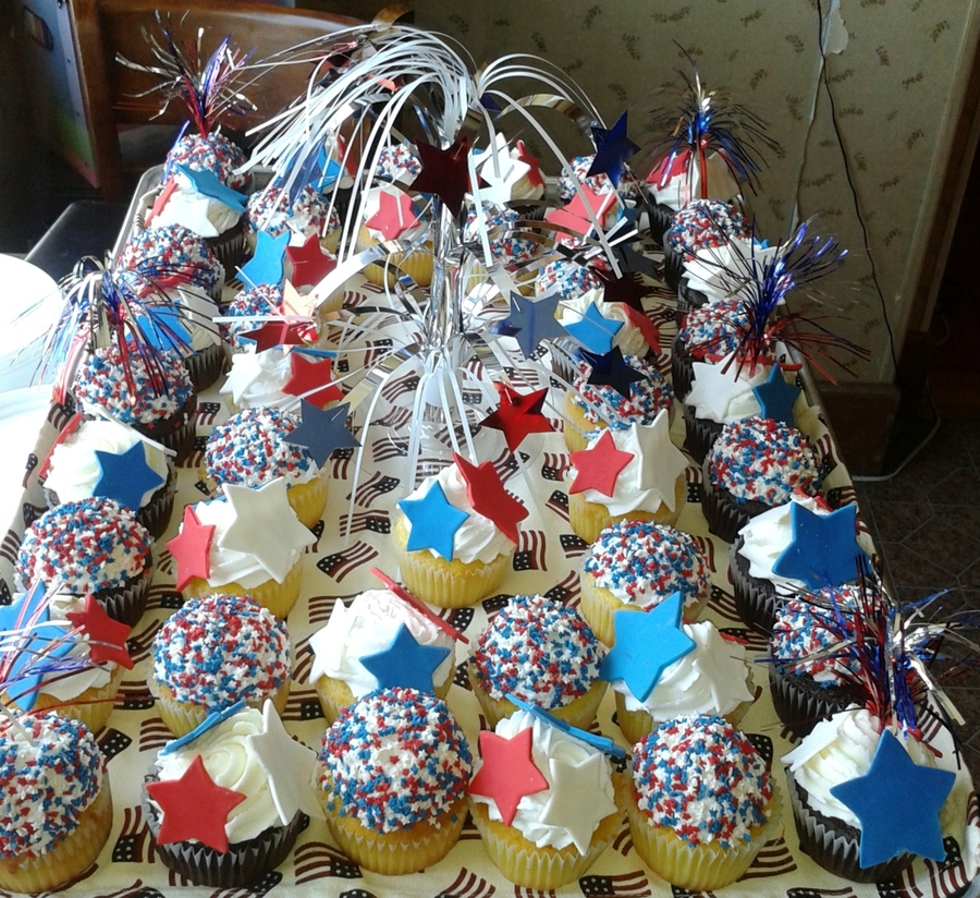 4Th Of July Cupcakes on Cake Central