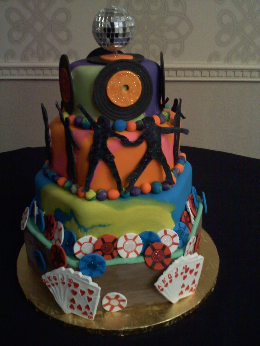 Disco 70's Cake on Cake Central