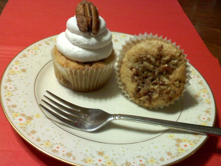 Pecan Pie Cupcakes on Cake Central