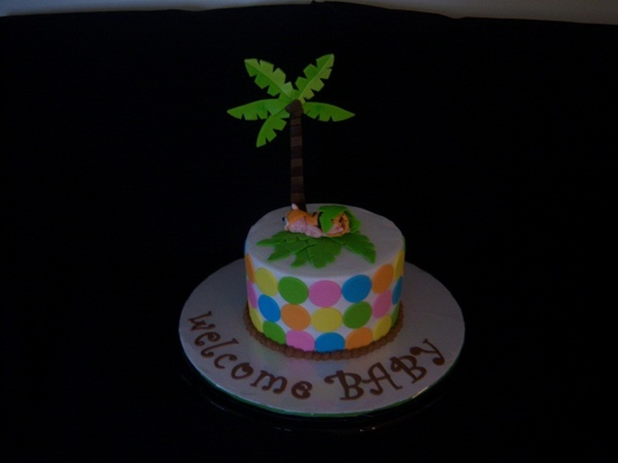 Rain Forest Theme Baby Shower Cake/cupcakes on Cake Central
