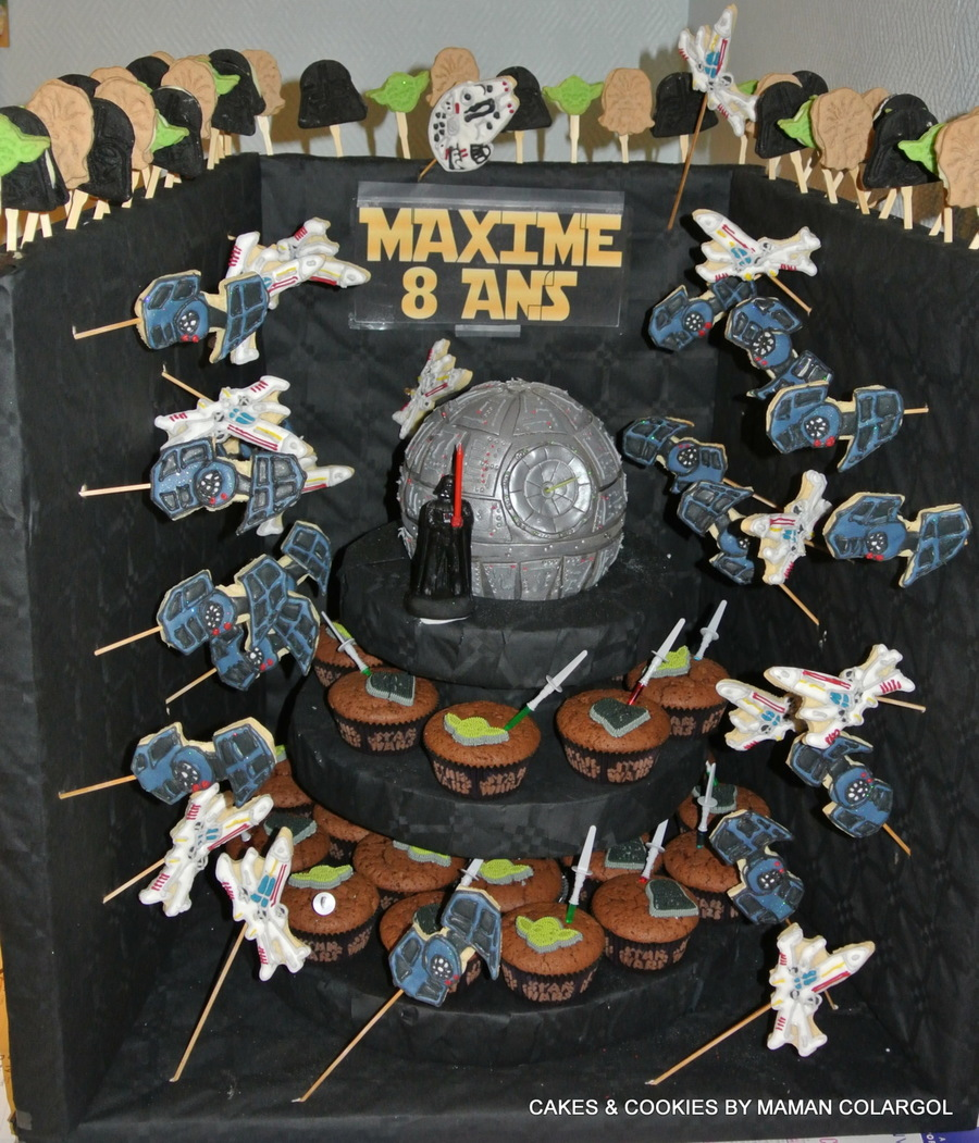 Star Wars / Death Star / on Cake Central