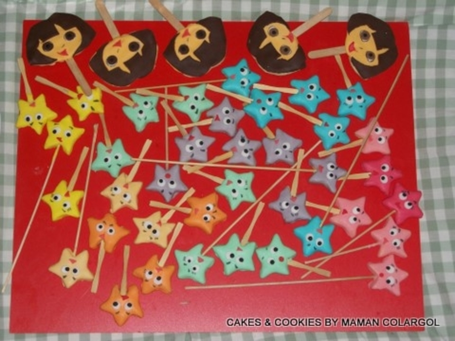 Stars Cookies  on Cake Central