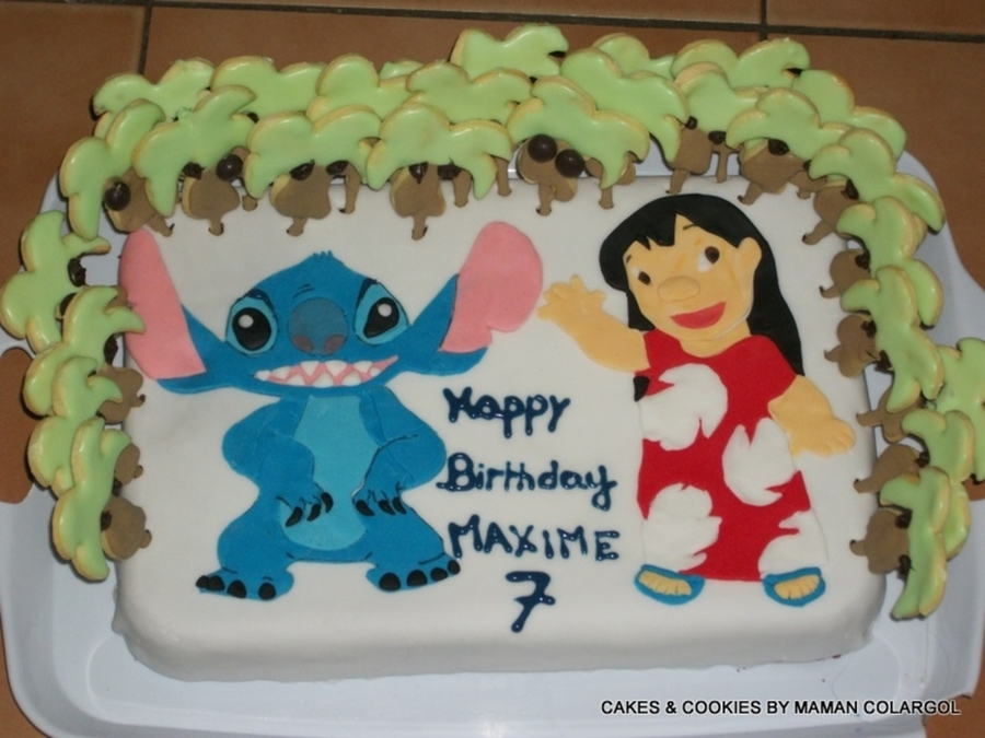 Lilo And Stitch Cake  on Cake Central