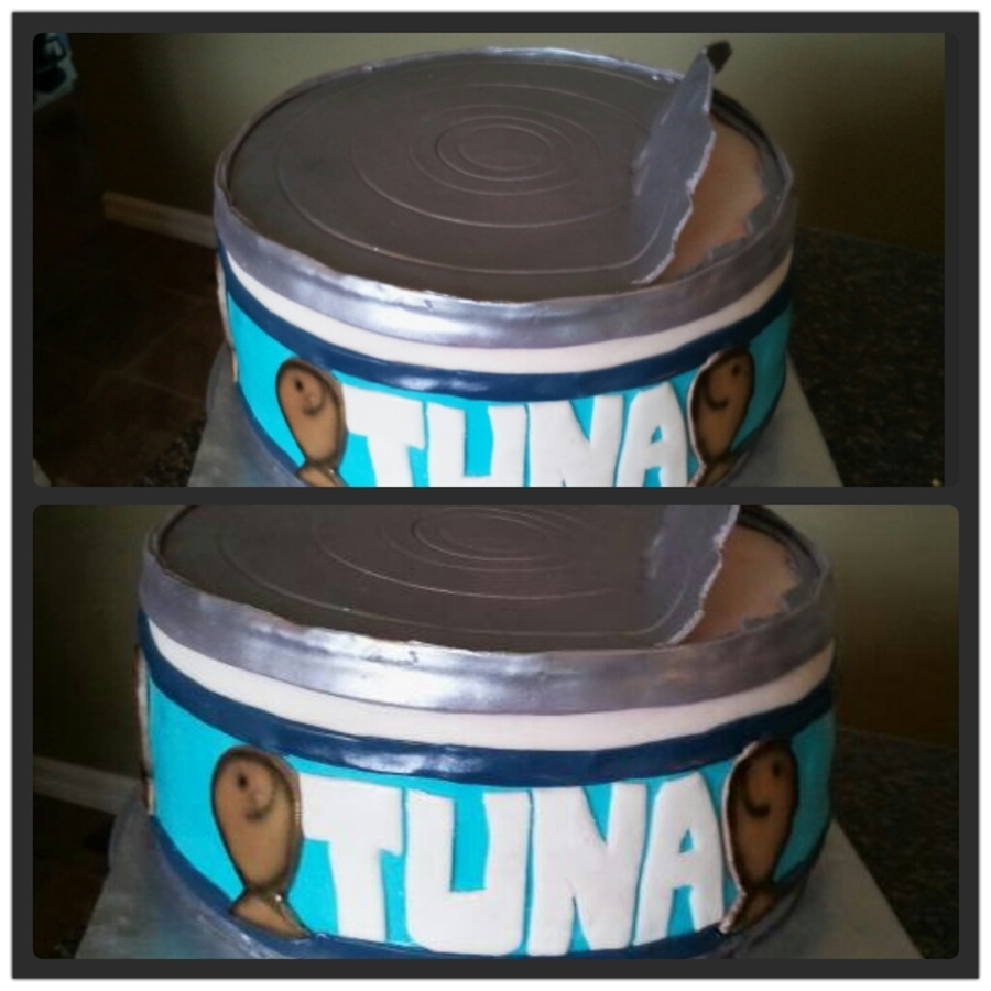 Tuna Can Cake on Cake Central