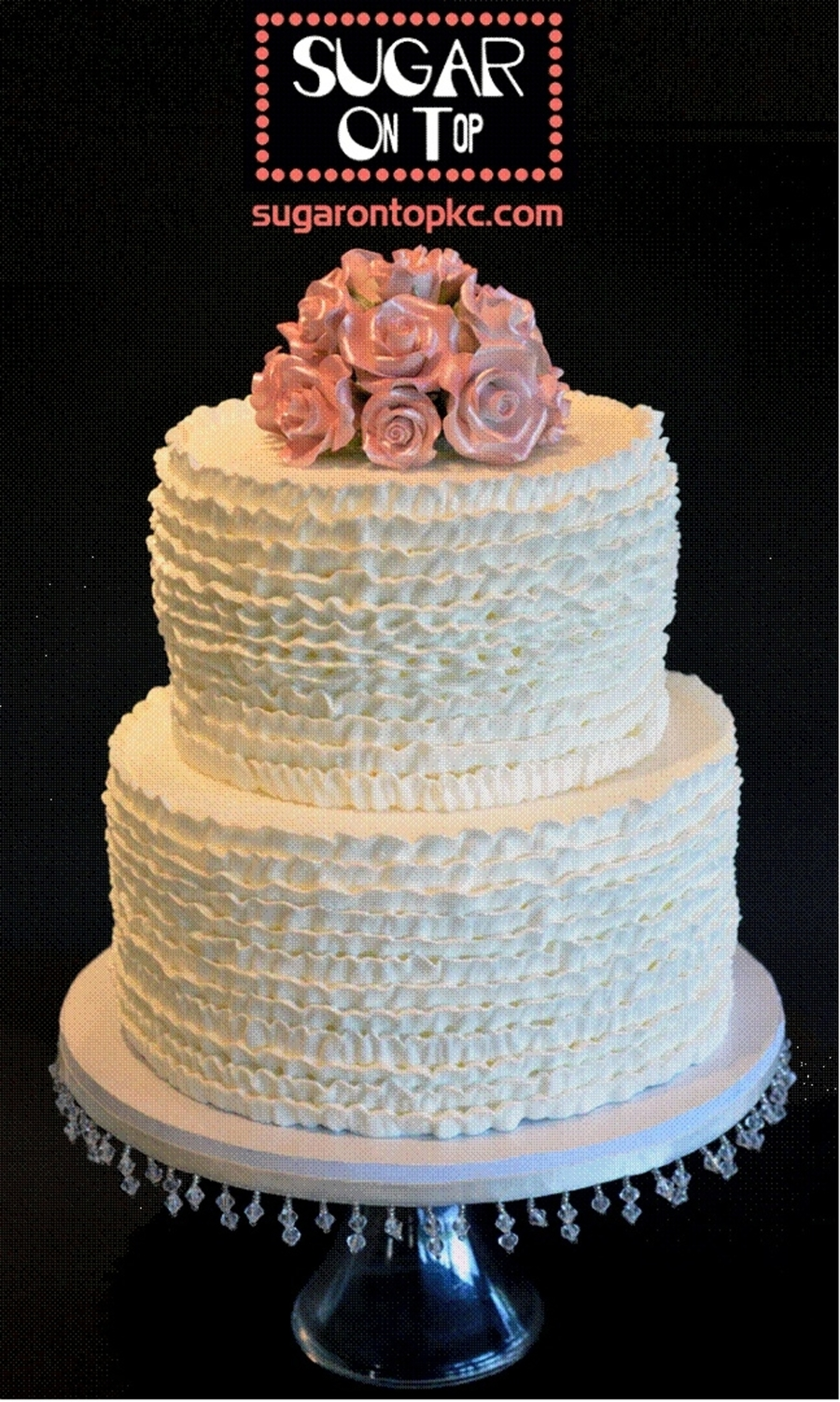 Buttercream Ruffle Cake on Cake Central
