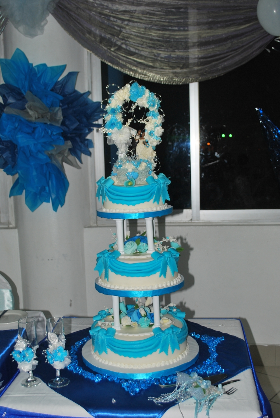 Ribbon Blue on Cake Central
