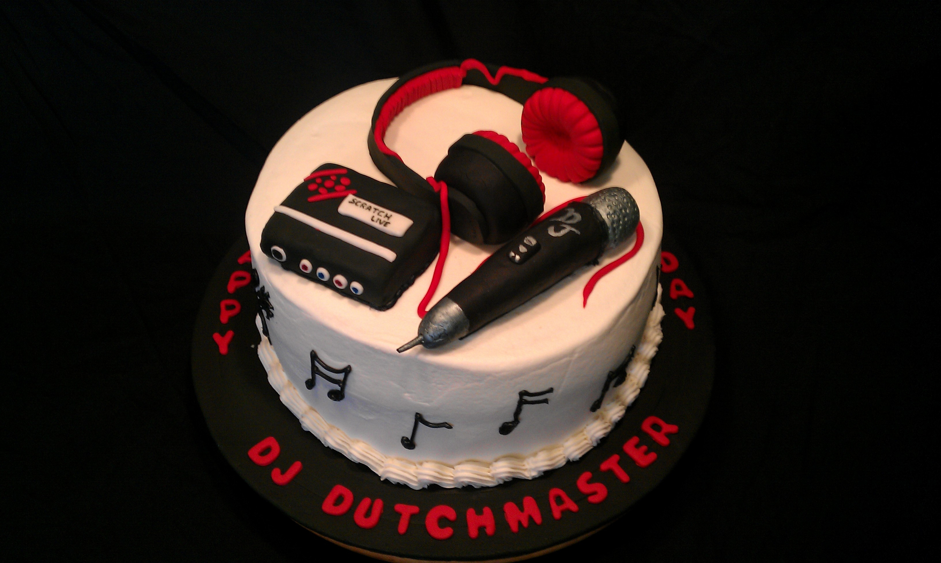 Dj Birthday Cake Ideas