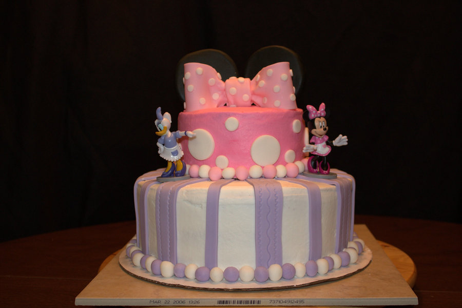 Minnie Mouse And Daisy Duck Cakecentral