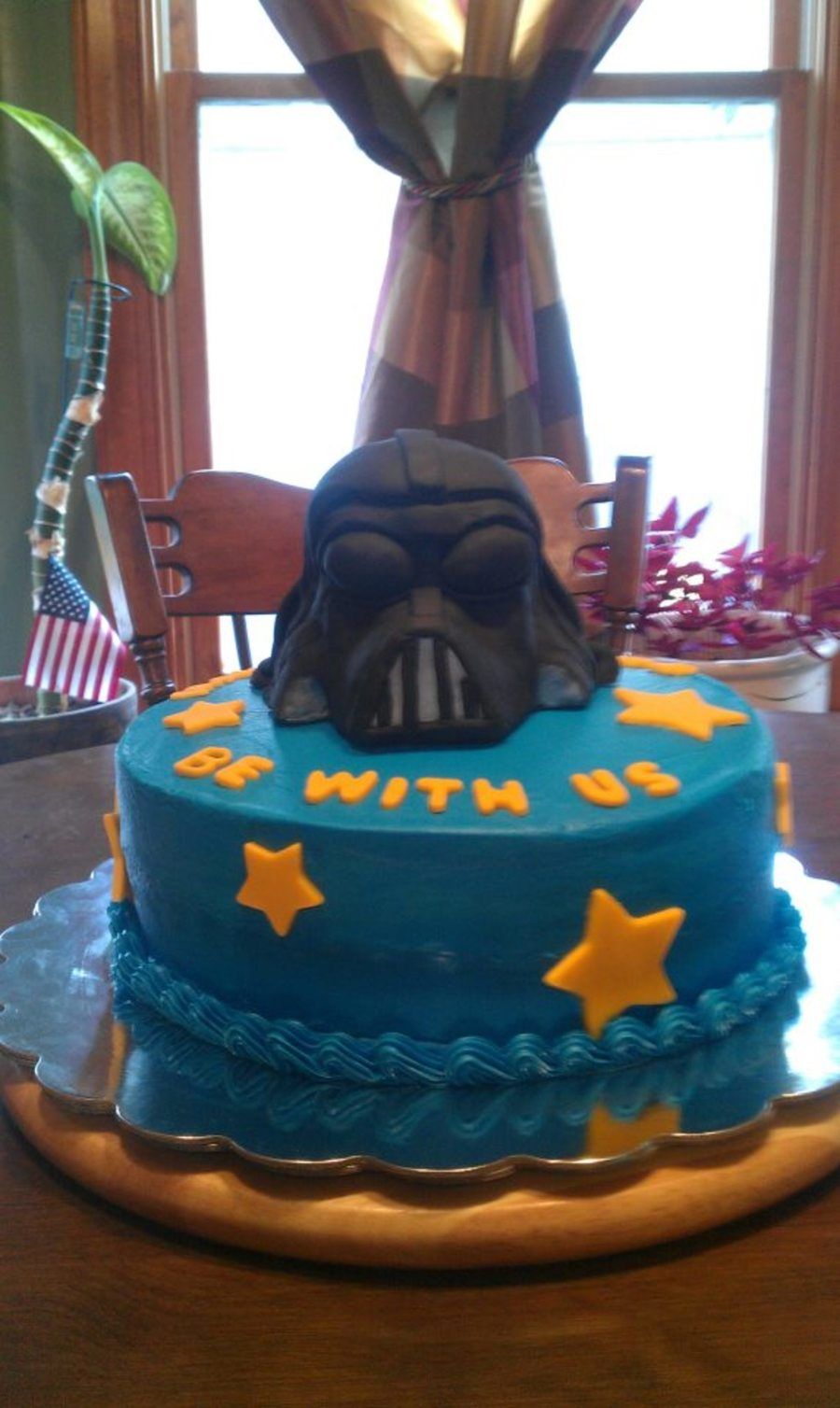 Darth Vader Grooms Cake on Cake Central