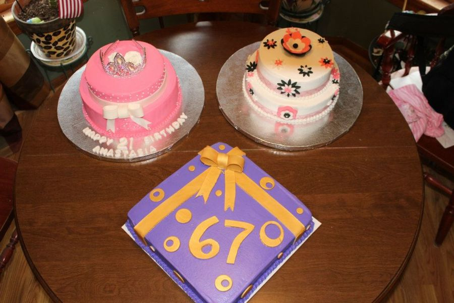 A Princess Birthday Cake, A Flower Birthday Cake And 67Th Birthday Cake.... on Cake Central