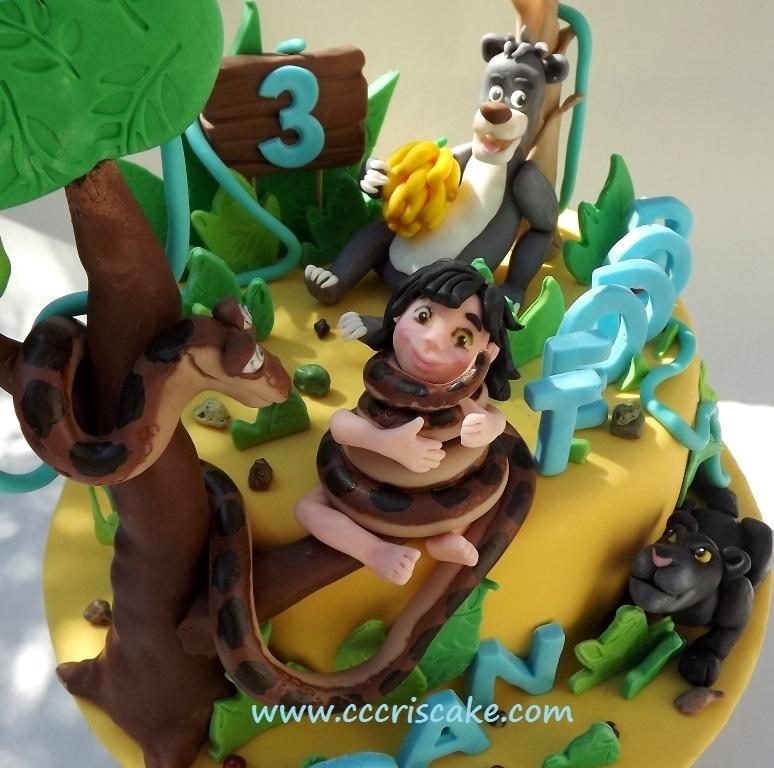 Jungle Book Cake Cakecentral Com
