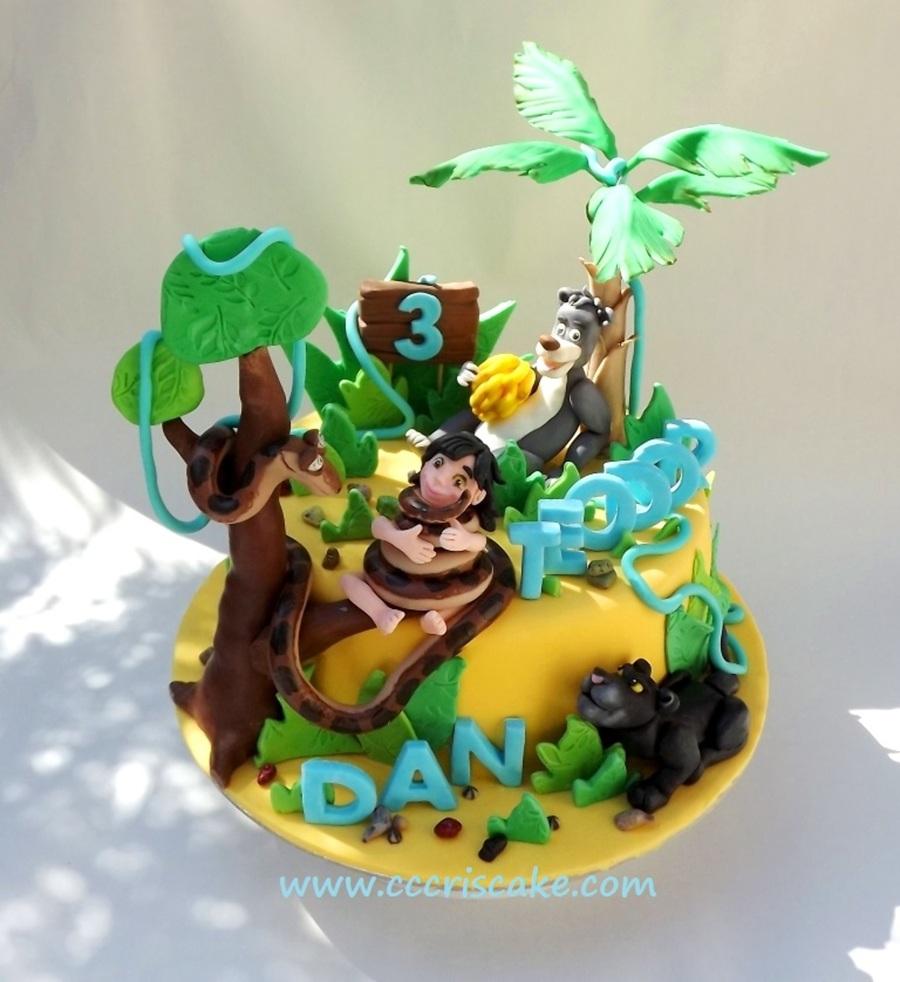 Jungle Book Cake - CakeCentral.com