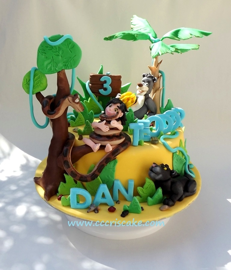 Jungle Book Cake - CakeCentral.com