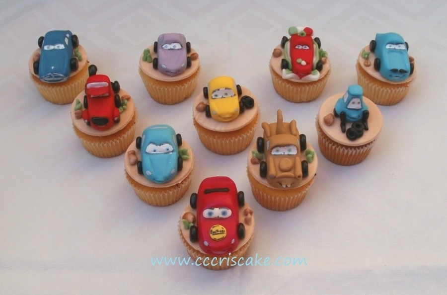 Cars Cupcakes on Cake Central