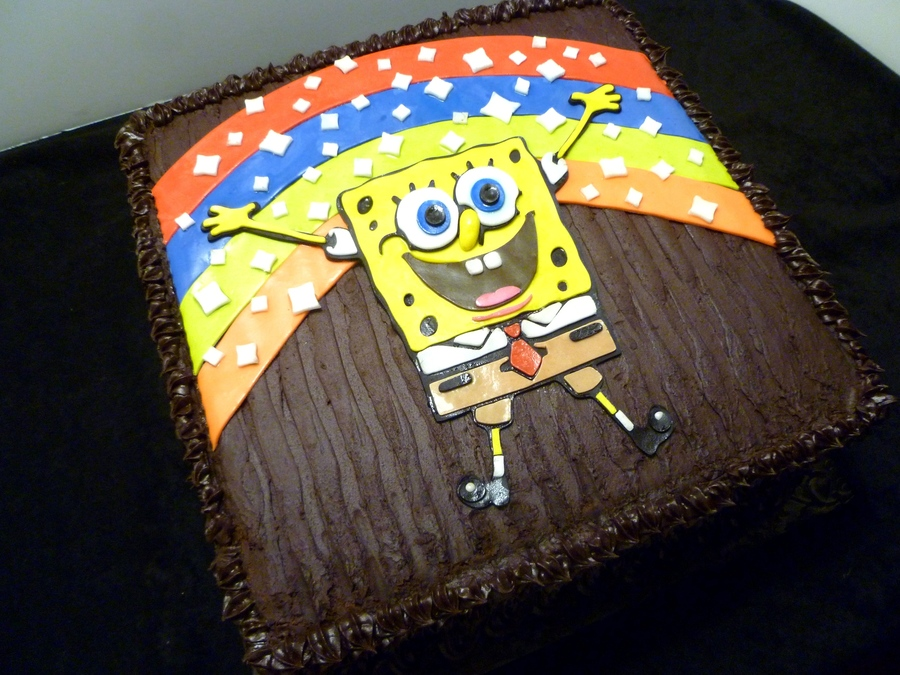 Sponge Bob Square Pants Birthday Cake on Cake Central