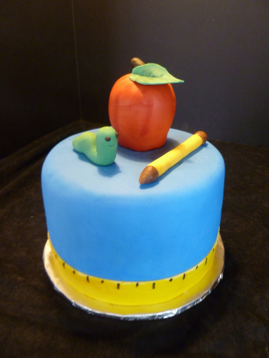 An Apple For My Teacher on Cake Central