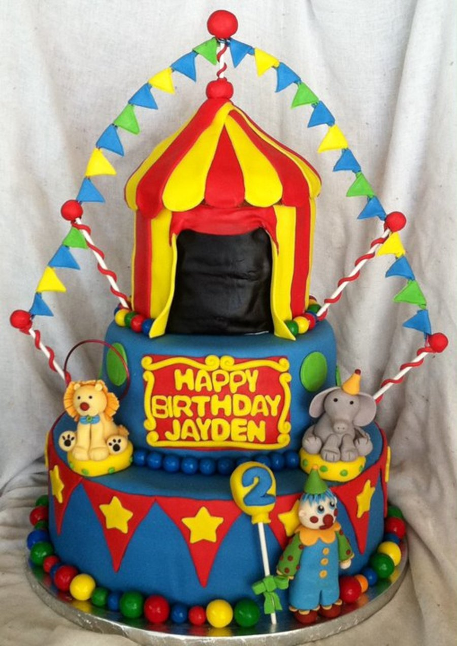 Circus Party 2 on Cake Central