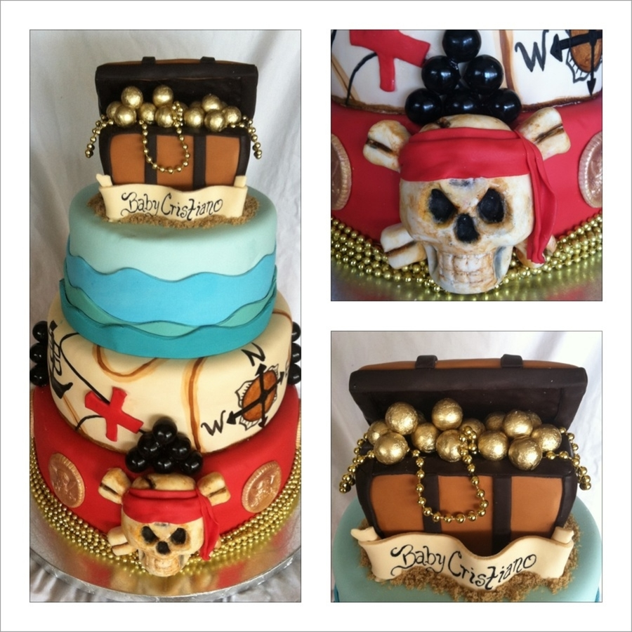 Pirate Baby Shower Cakecentral