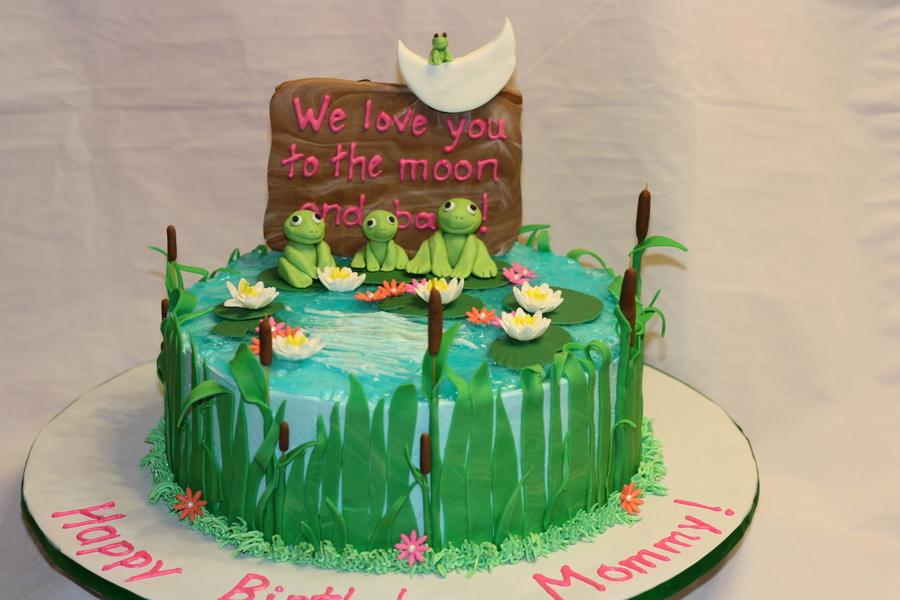 Frog Pond Birthday Cake Cakecentral