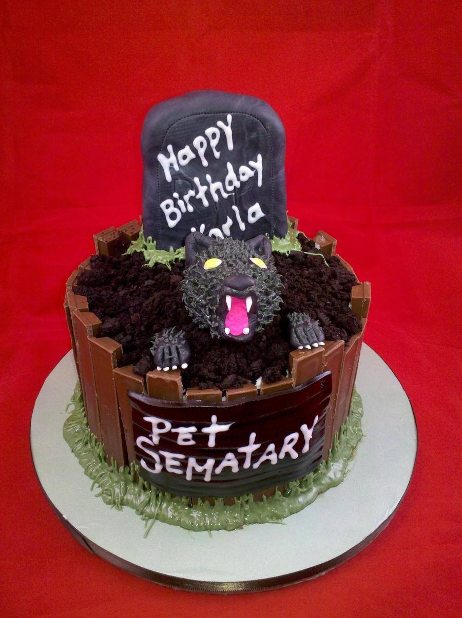 Pet Sematary Birthday Cakecentral Com