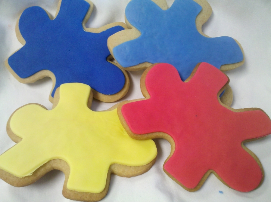 Autism Awareness! on Cake Central