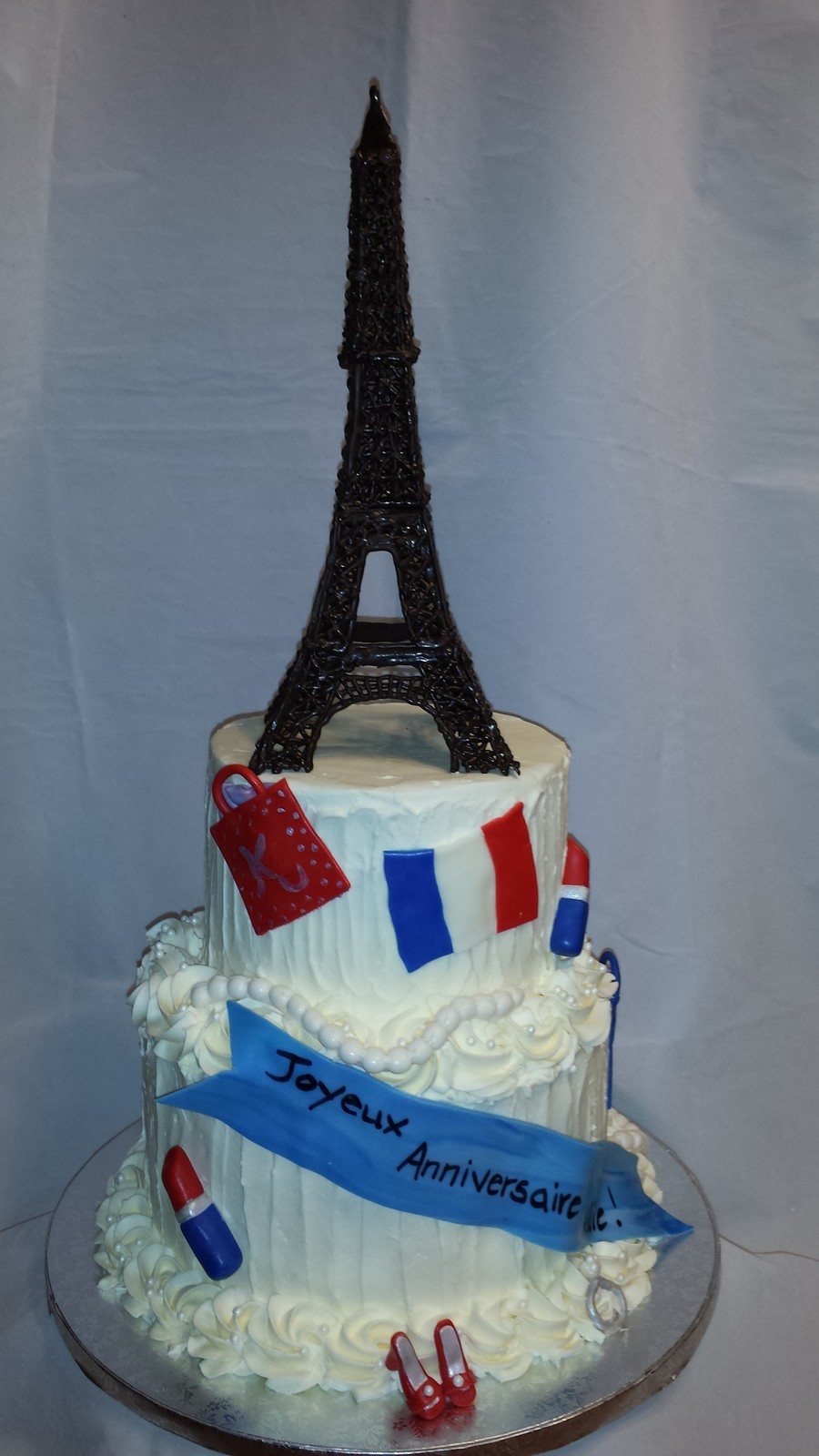 A Birthday Cake For The Clients Wife Their Daughter Designed The