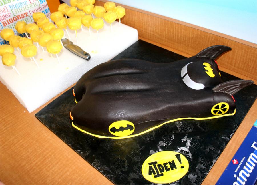 Batmobile Birthday Cake Cakecentral Com