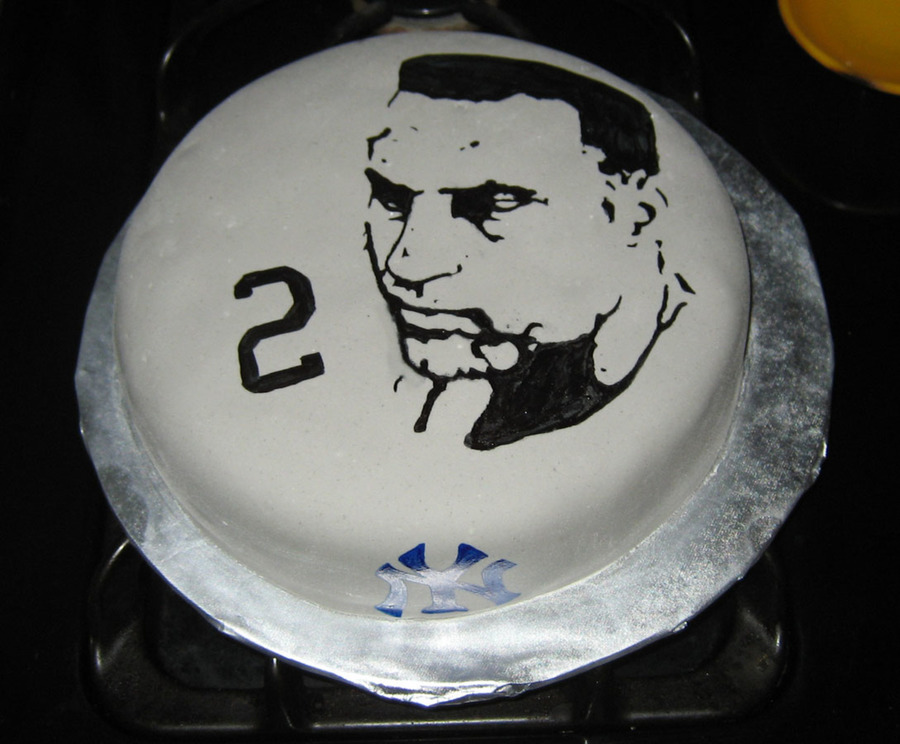 Jeter Face Cake on Cake Central