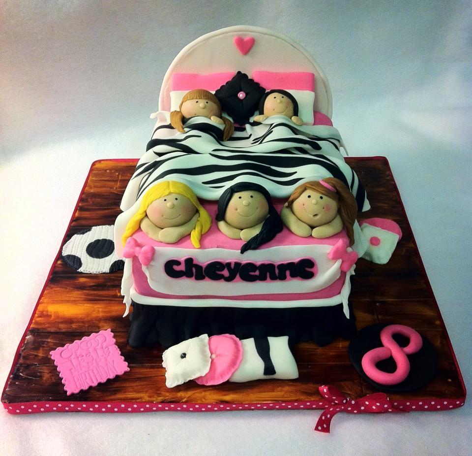 Pajama Party Birthday Cake Ideas