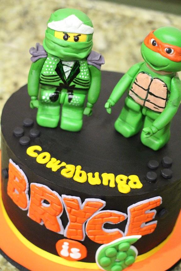 Tmnt Cake Figurines