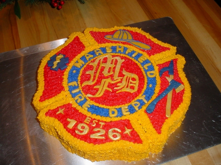 Mfd Fire Badge on Cake Central