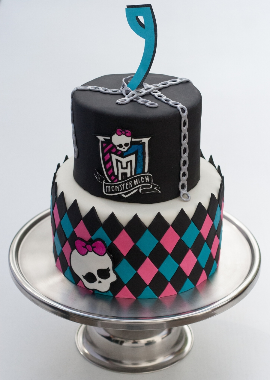 Pleasing Monster High Birthday Cake Cakecentral Com Funny Birthday Cards Online Fluifree Goldxyz