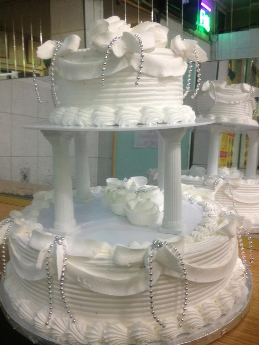 Aniverssary White Cake on Cake Central