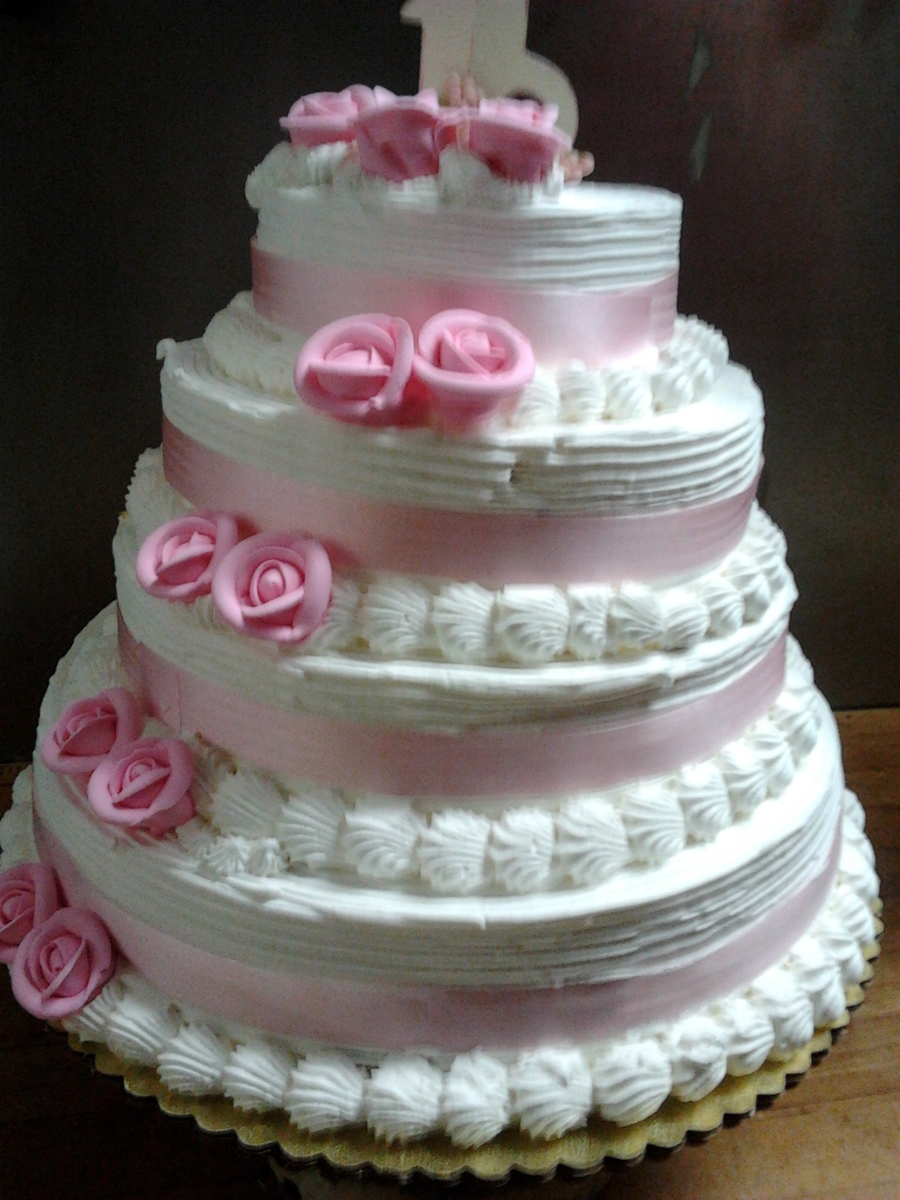 Sweet Sixteen Pink on Cake Central