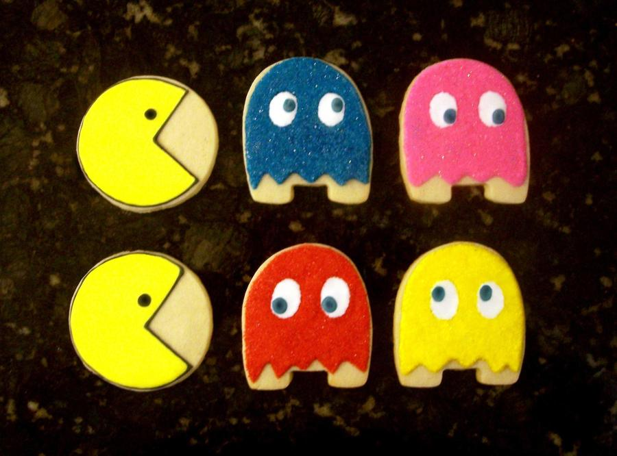 Pacman! on Cake Central