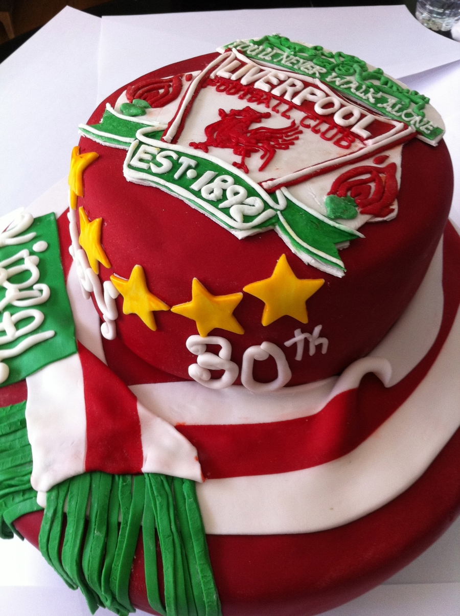 Liverpool Fb Club Birthday Cake on Cake Central